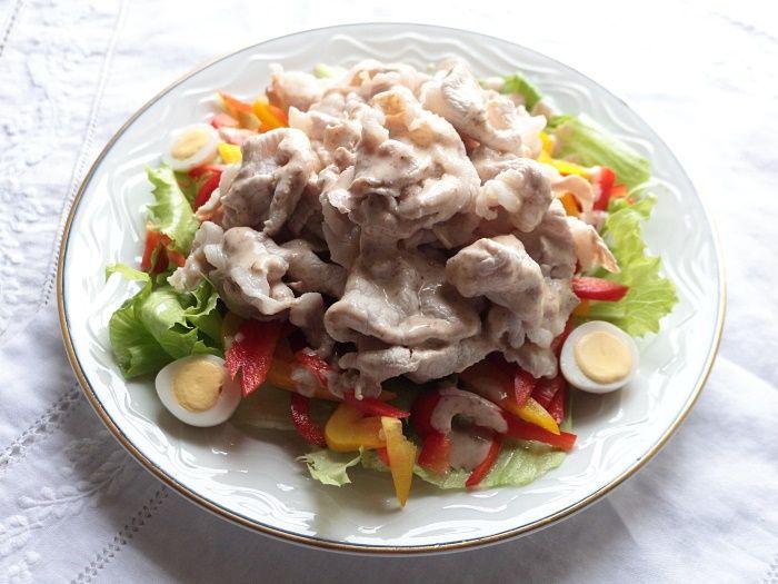 豚しゃぶサラダ1