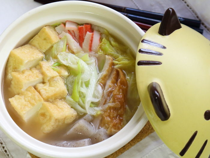 厚揚げと白菜の中華スープ鍋☆寒い時ほど美味しさが心に届く!