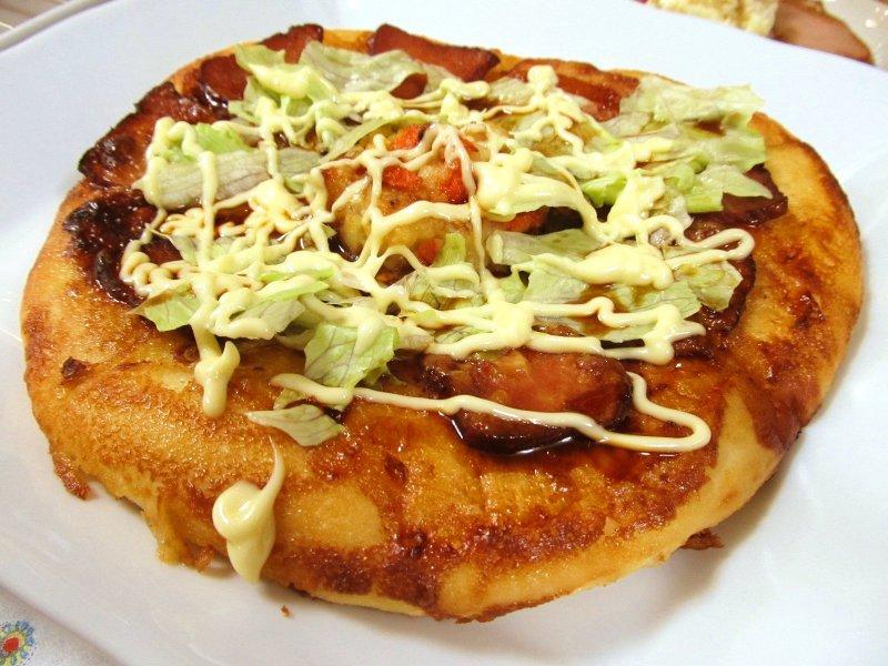 $ひなちゅんの!なちゅらる日記-焼き豚和風ピザ