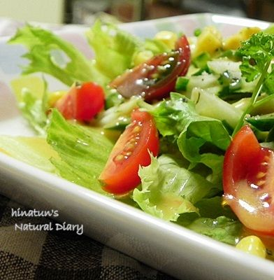 GADO-GADO SALAD ドレッシングで普通のサラダがご馳走に! & お知らせ