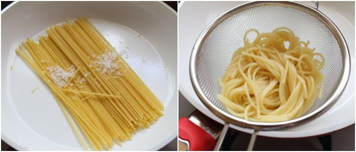 早ゆでスパゲッティミニ