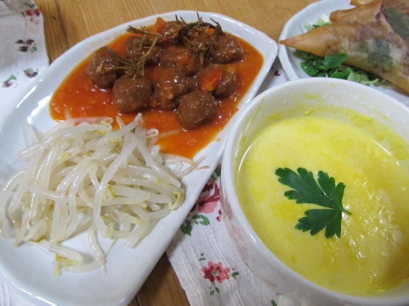 hinatunの!なちゅらる日記-ミートボール+スープ