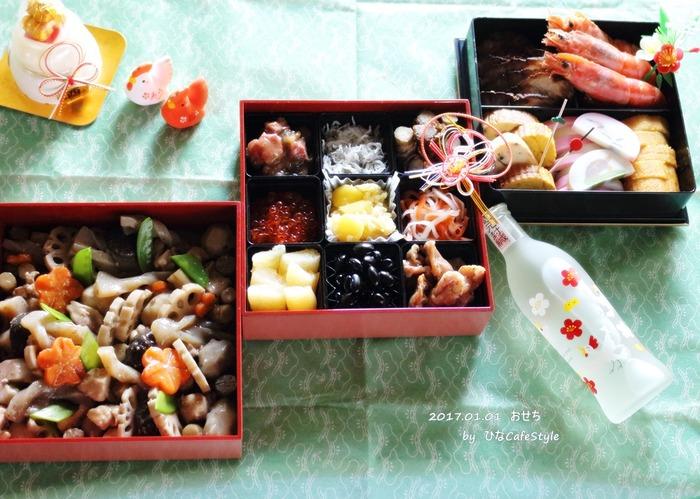 おせち料理(2013年~2017年)まとめ