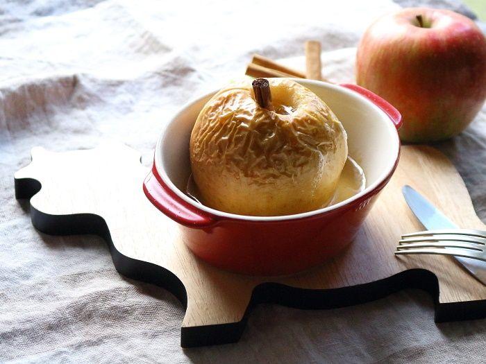 焼きりんご【スパイス大使】☆バニラアイスを添えて♪