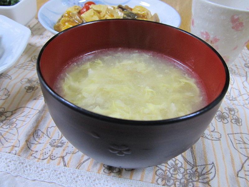 hinatunの!なちゅらる日記-たまごスープ