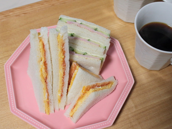 日曜日はサンドイッチから始まる日【レシピ】