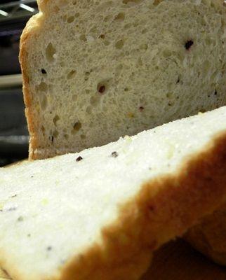 "HBお任せ""雑穀パン""でメロンパン味の朝ごパン♪"