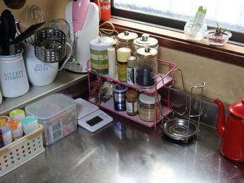 炊飯器の場所1