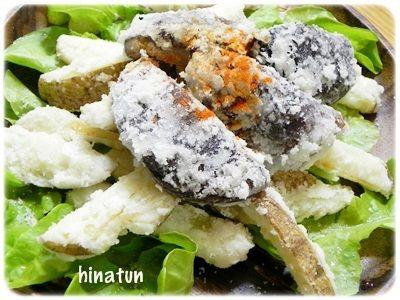 ポテト&椎茸のフライ