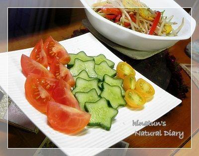 収穫野菜de夏サラダ