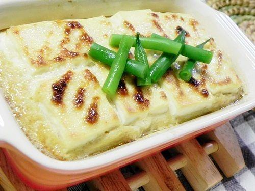 お豆腐の長芋焼き2