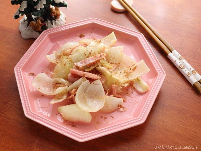 玉ねぎのマヨソテー☆常備野菜を使った節約おかず