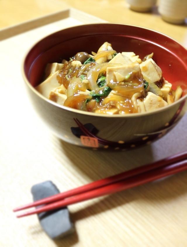 簡単マーボ豆腐2