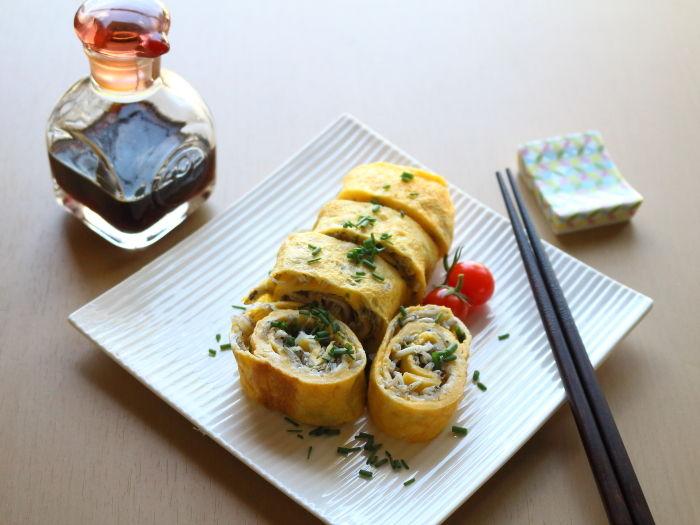 しらす入りの卵焼き☆綺麗な卵焼きを作るにはどうしたらいい?