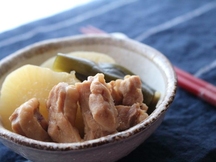 大根と鶏肉の照り煮☆ほっこり安心できるおかず