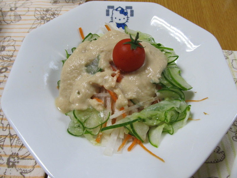 hinatunの!なちゅらる日記-大根サラダ