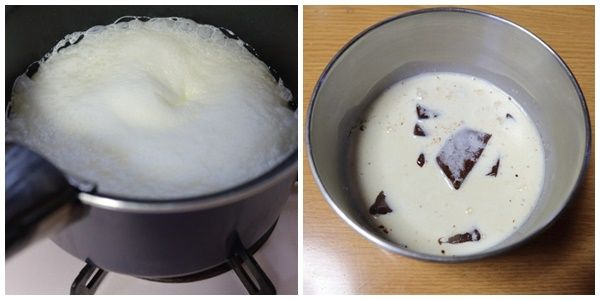 生チョコ作り