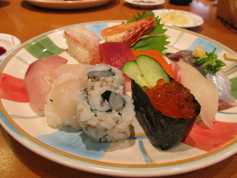 hinatunの!なちゅらる日記-寿司ランチ