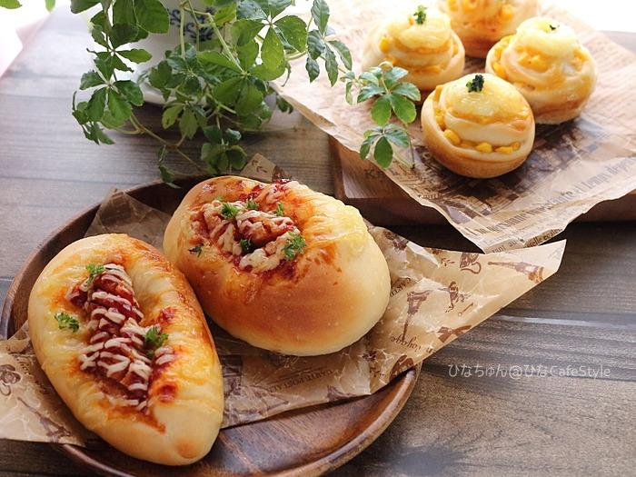 コーンとウィンナーの惣菜パン☆パン焼きから、自分の性格がふと分かったこと