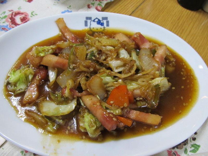 hinatunの!なちゅらる日記-野菜炒め(焼肉のたれ味)