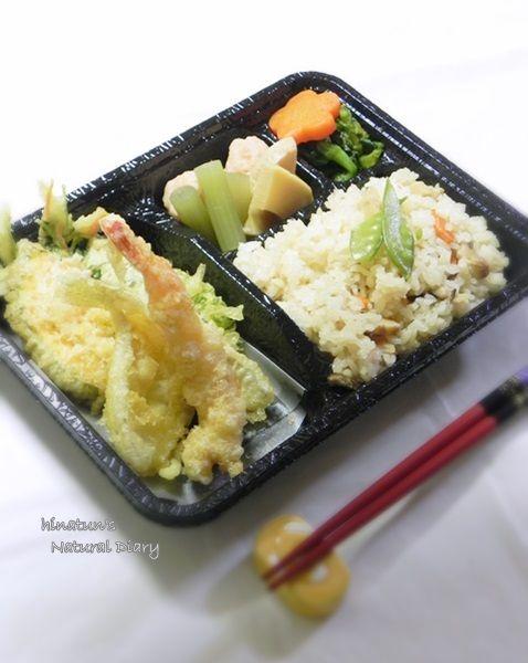 春の天ぷら♪特製弁当