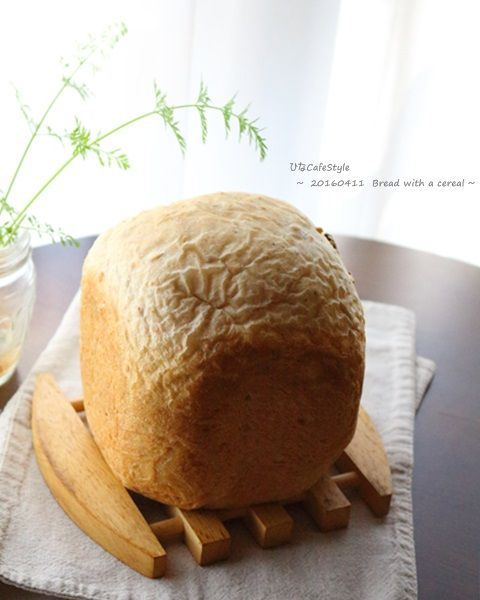 シリアル入り食パン