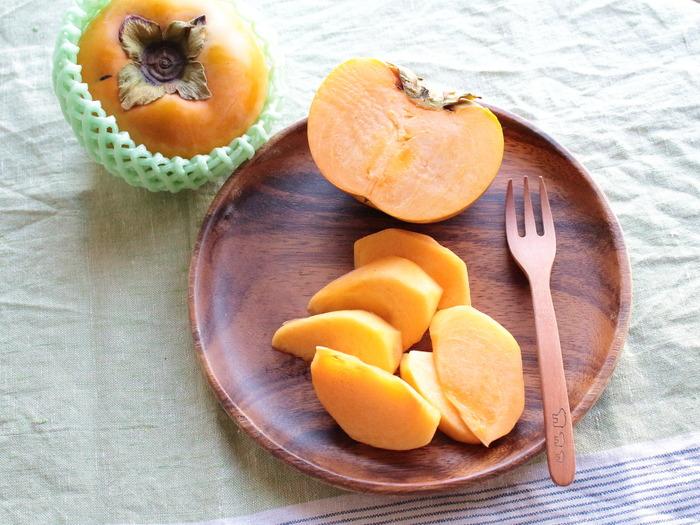 「太秋柿」いただきます。岐阜クッキングアンバサダー