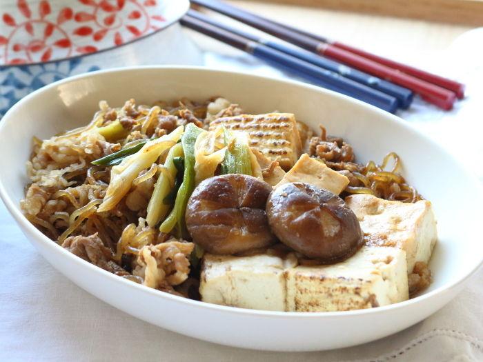 味付けはこれ1本!「簡単肉豆腐」☆思わずほっとするような夜ご飯のおかず
