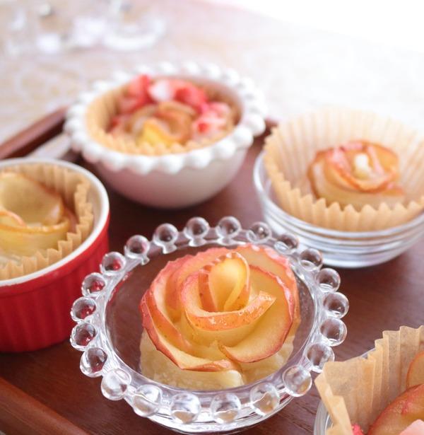 不器用ですが・・・「薔薇のアップルパイ」を作ってみました!