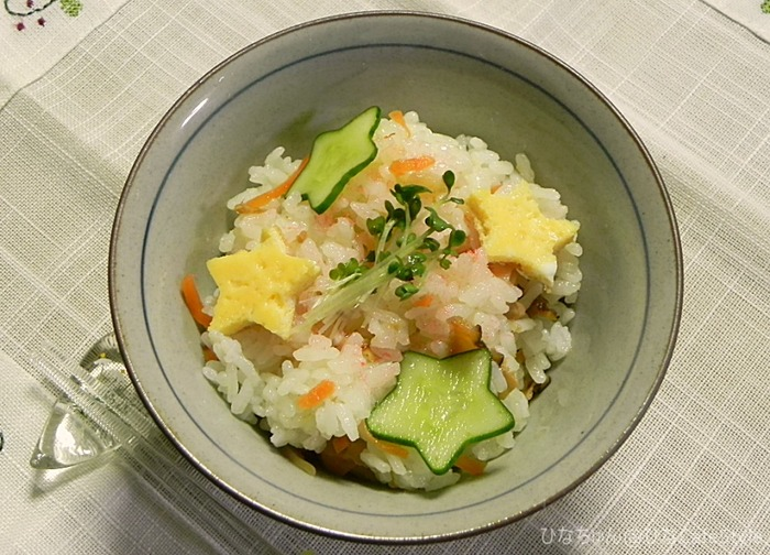 七夕ちらし寿司