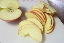 1りんごをスライスする