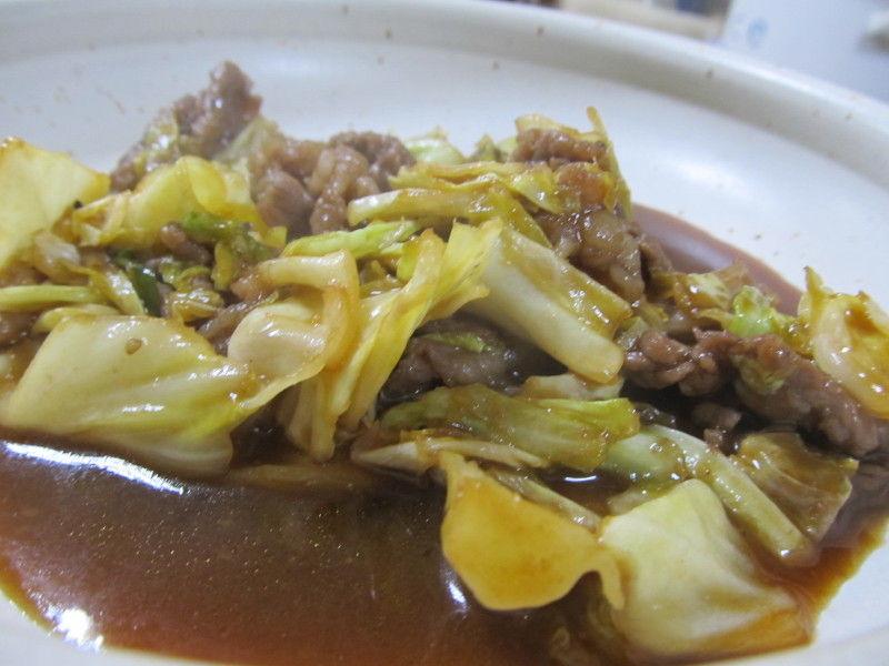 hinatunの!なちゅらる日記-牛肉とキャベツの炒めもの