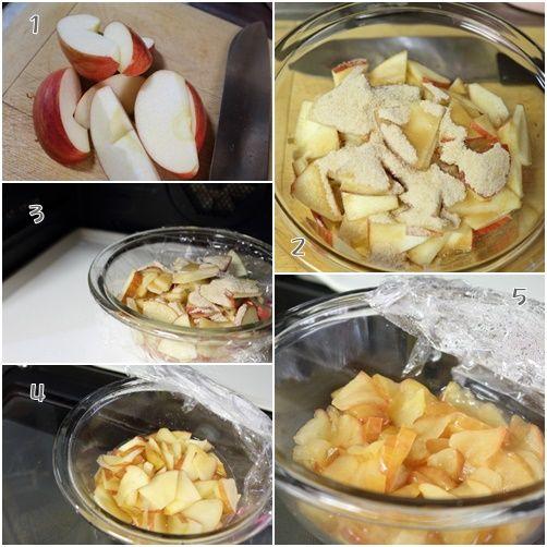 りんご行程