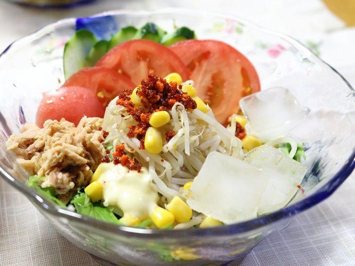 サラダそうめん☆暑さで食欲がないときも、これならきっと大丈夫!