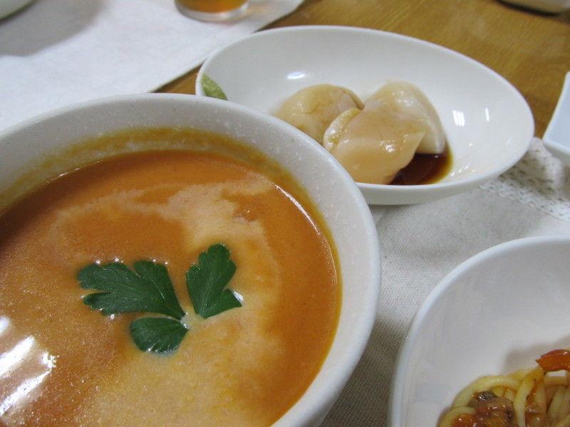 hinatunの!なちゅらる日記-トマトの冷製スープ