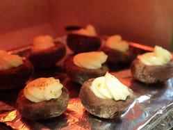3オーブントースターで5分ほど焼く
