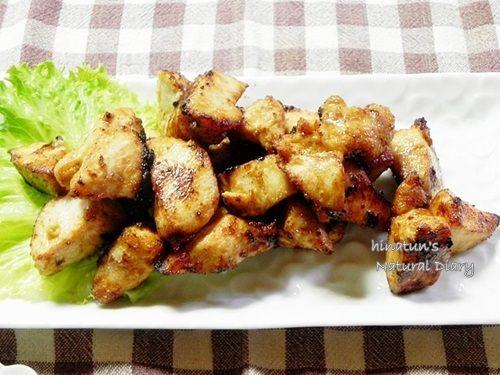 醤油糀とマヨネーズの唐揚げ と 【つくれぽ】根菜のオーブン焼き by小春ちゃん
