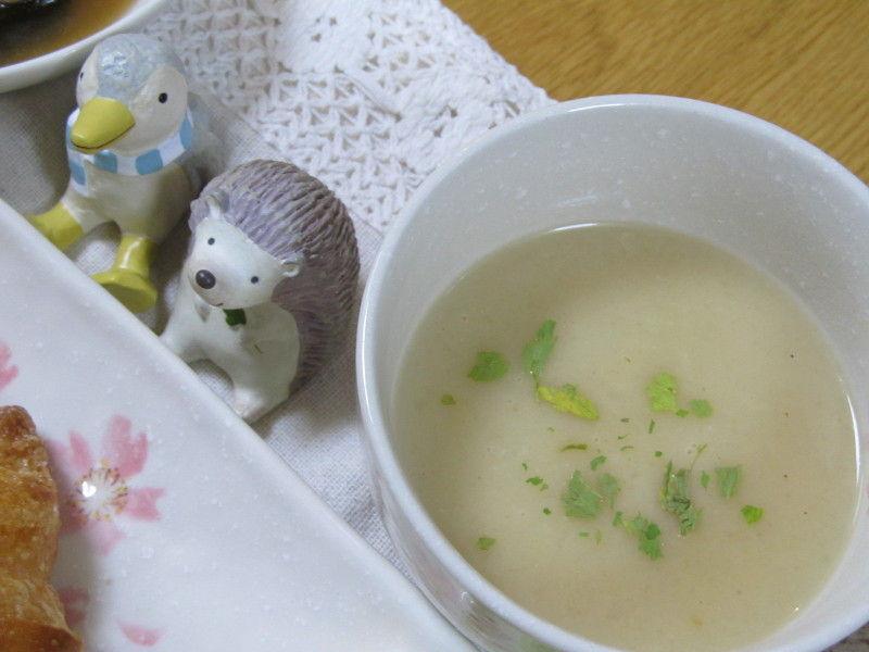 hinatunの!なちゅらる日記-新たま新じゃがスープ