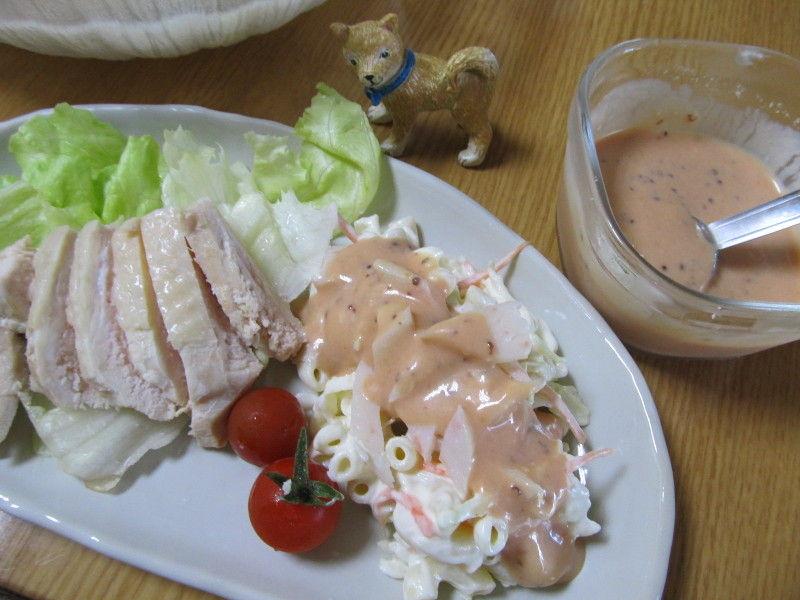 hinatunの!なちゅらる日記-塩鶏&サラダ
