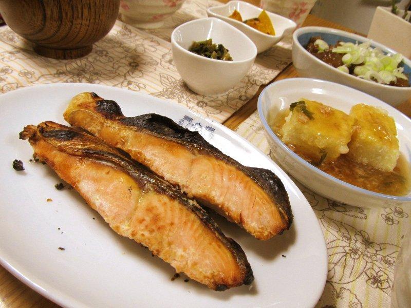 ひなちゅんの!なちゅらる日記-焼き鮭