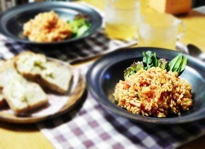 「トマトソースのリゾーニ」とNadiaレシピサイトの旬のレシピに掲載されました!