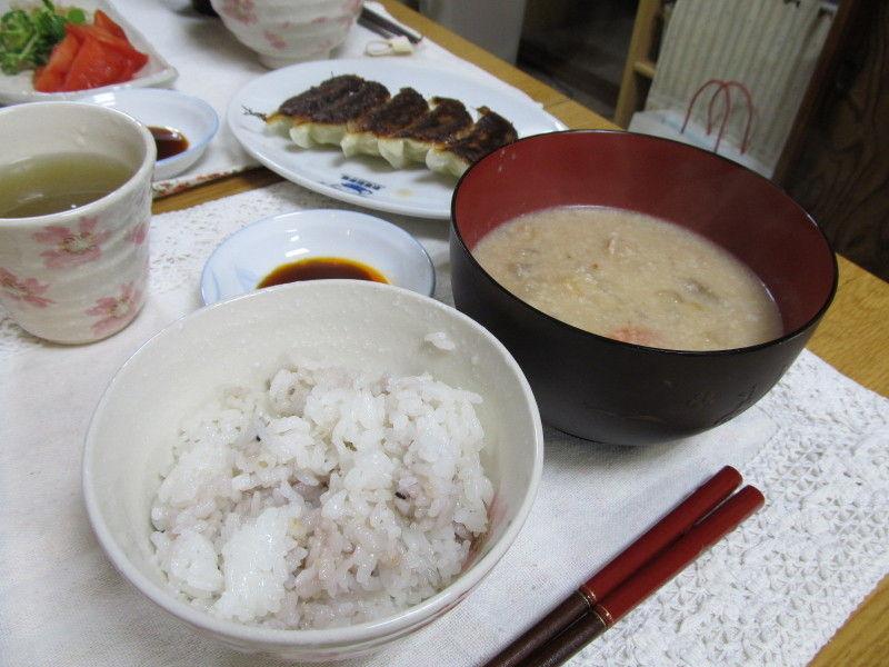 hinatunの!なちゅらる日記-ご飯&粕汁