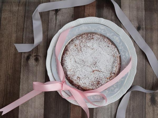バレンタイン前日でもまだ間に合います!混ぜて焼くだけ♡生チョコチーズケーキ♡