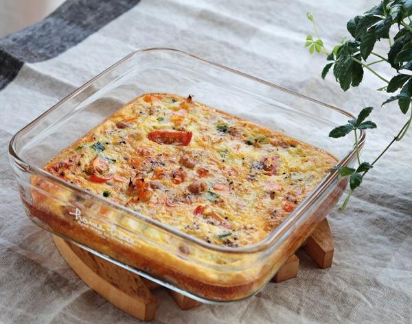 冷蔵庫に半端に残った野菜の救済レシピ!「大豆とカラフル野菜のオムレツ」と佐賀県産アスパラガス