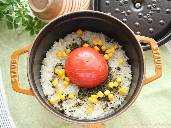 ハーブ香る丸ごとトマトライス