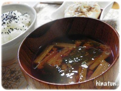0511大根とわかめのお味噌汁