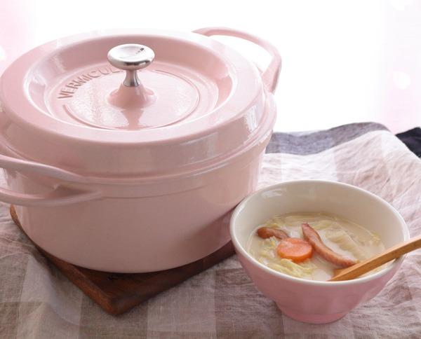 寒い日は身体の内から温めよう!【バーミキュラ】野菜の甘み&旨みを味わえるミルクスープ