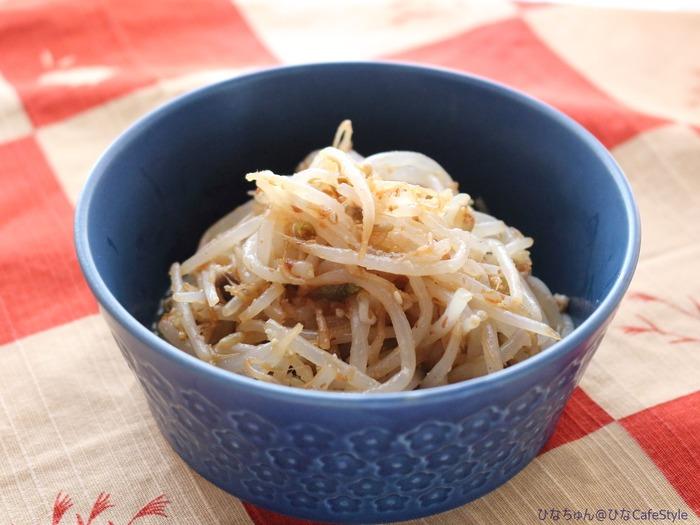 辛くないもやしのナムル☆明日からのお弁当おかずとして。
