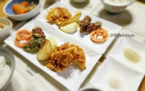 米粉の天ぷら