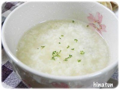コンソメたまごスープ